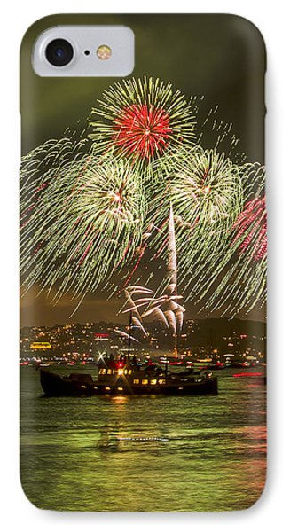 Golden Gate Bridge 75th Anniversary Fireworks 17 IPhone Case