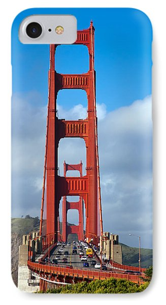 Golden Gate Bridge Phone Case by Adam Romanowicz