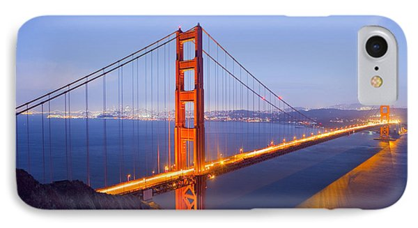 Golden Gate Bridge At Dusk IPhone Case