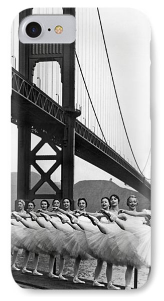 Golden Gate Bridge Ballet IPhone Case