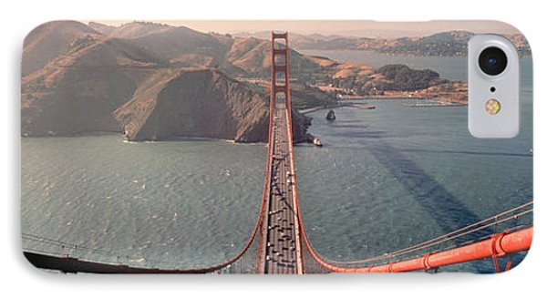Golden Gate Bridge California Usa IPhone Case by Panoramic Images