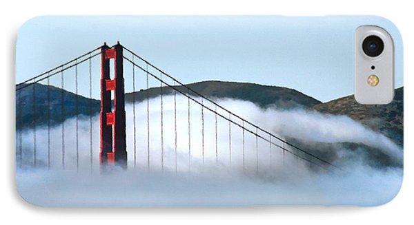 Golden Gate Bridge Clouds IPhone Case