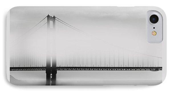 Golden Gate Bridge - Fog And Sun Phone Case by Ben and Raisa Gertsberg