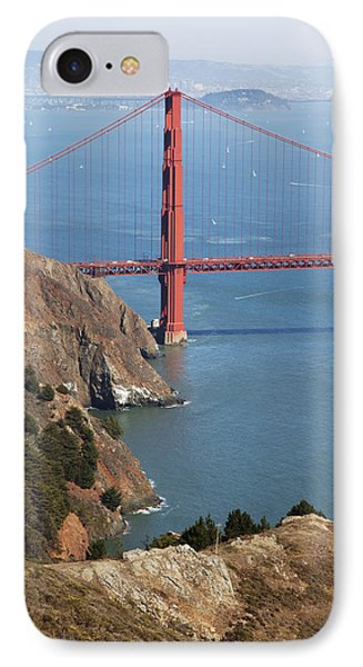 Golden Gate Bridge II Phone Case by Jenna Szerlag