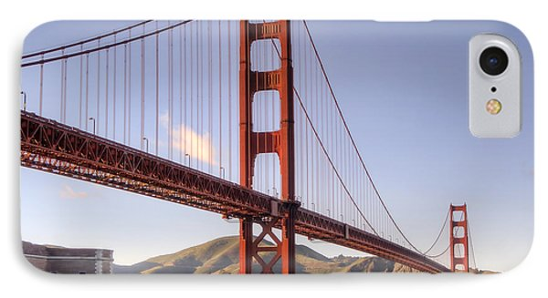 Golden Gate Bridge In San Francisco IPhone Case