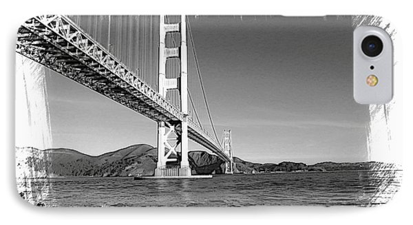 IPhone Case featuring the photograph Golden Gate Bridge by Kathy Churchman