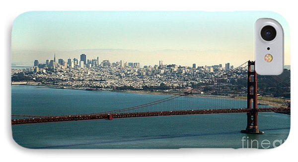 Golden Gate Bridge IPhone Case by Linda Woods