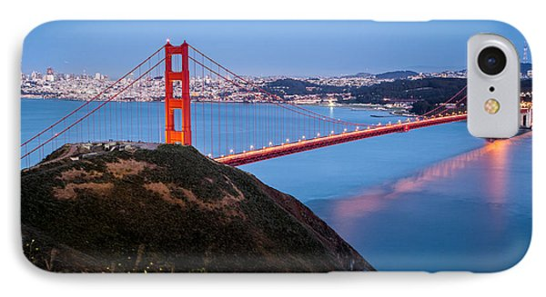 IPhone Case featuring the photograph Golden Gate Bridge by Mihai Andritoiu