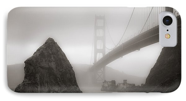 Golden Gate Bridge IPhone Case by Niels Nielsen