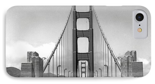 Golden Gate Bridge Preview IPhone Case by Underwood Archives
