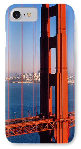 Golden Gate Bridge San Francisco Ca IPhone Case by Panoramic Images