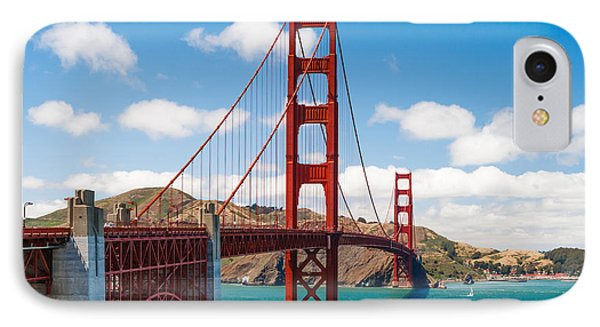 Golden Gate Bridge IPhone Case by Sarit Sotangkur