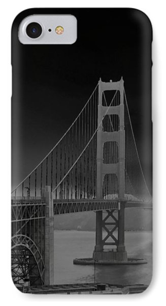 Golden Gate Bridge To Sausalito IPhone Case by Connie Fox