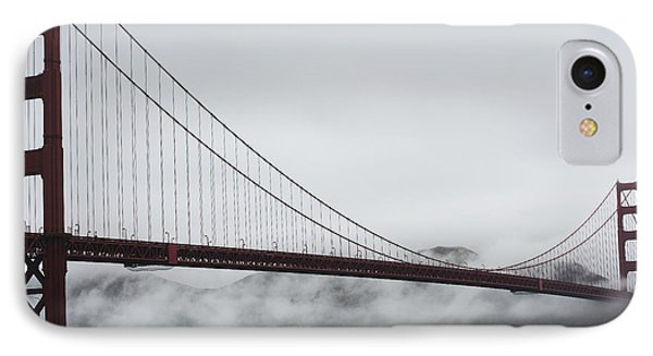 Golden Gate By The Bay Phone Case by David Bearden