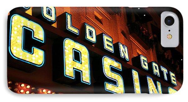 Golden Gate Casino Phone Case by John Rizzuto