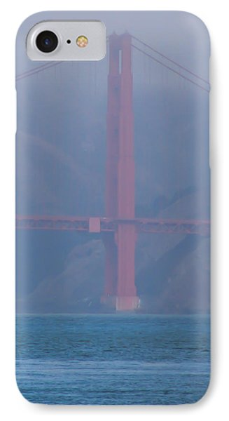 Golden Gate Fog IPhone Case