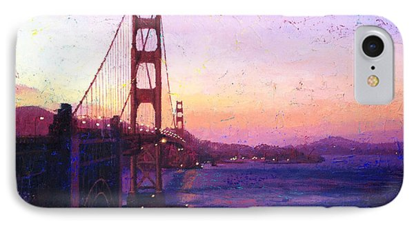 Golden Gate IPhone Case by Gina Tecson