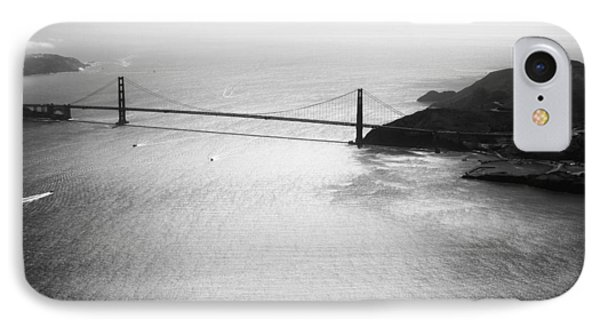Golden Gate In Black And White IPhone Case