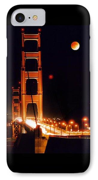 Golden Gate Night Phone Case by DJ Florek