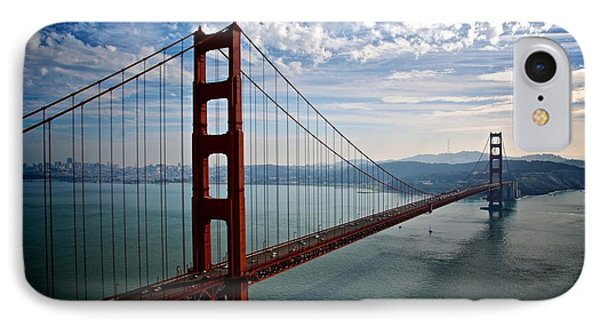 Golden Gate Open IPhone Case by Eric Tressler