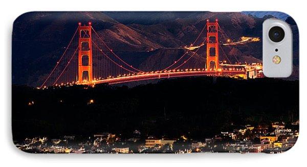 Golden Gate Sunrise IPhone Case