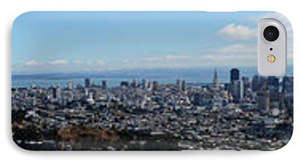 Golden Gate To Bay Bridge IPhone Case