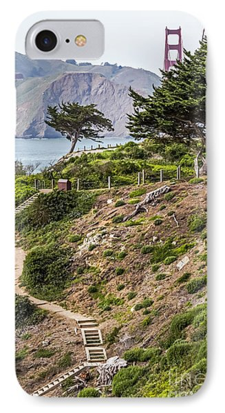 Golden Gate Trail Phone Case by Kate Brown