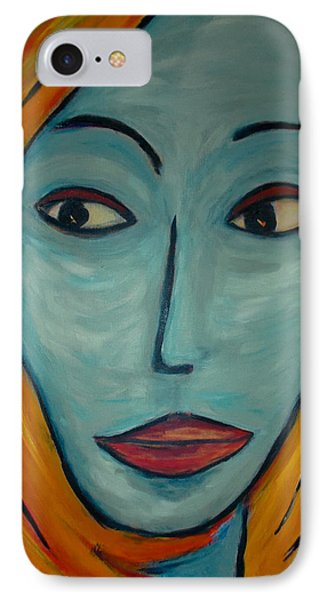 IPhone Case featuring the painting Golden Girl by Zeke Nord