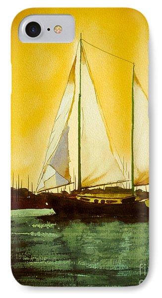 Golden Harbor  Phone Case by Kip DeVore