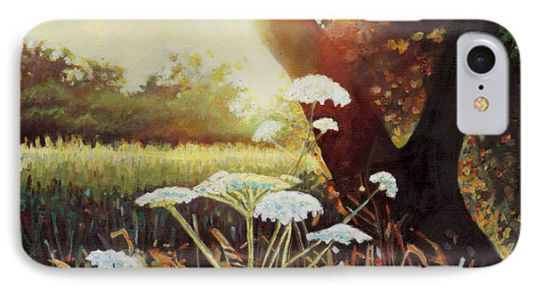 Golden Hedgerow IPhone Case