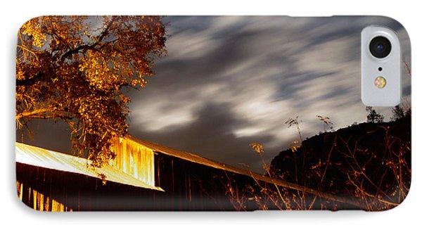 Golden Honeyrun Covered Bridge Phone Case by Peter Piatt