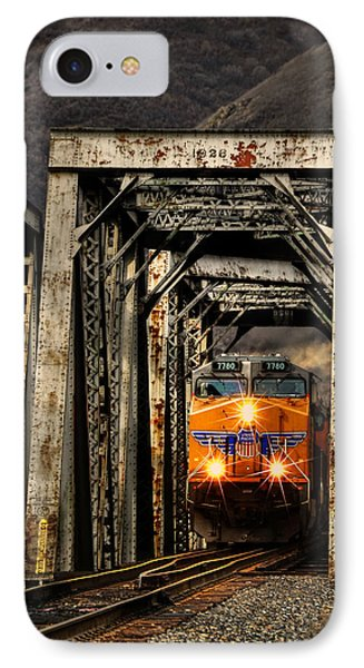 IPhone Case featuring the photograph Golden Hour Crossing by Ken Smith