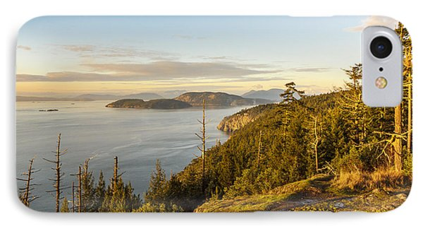 Golden Hour On The Salish Sea IPhone Case by Tony Locke
