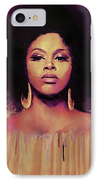 Golden IPhone Case by Howard Barry