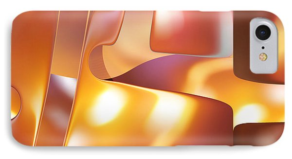 Golden Light IPhone Case by rd Erickson