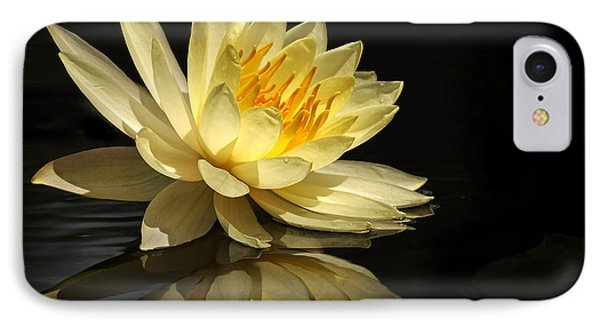 Golden Lotus IPhone Case