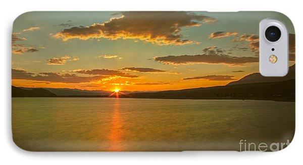 Golden Mackay Reservoir IPhone Case