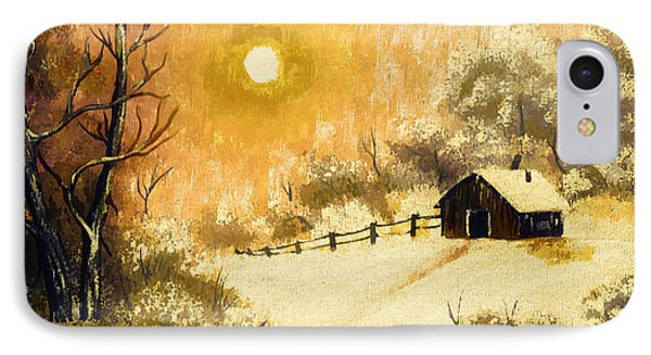 Golden Morning Phone Case by Barbara Griffin