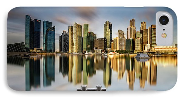 Golden Morning In Singapore IPhone Case