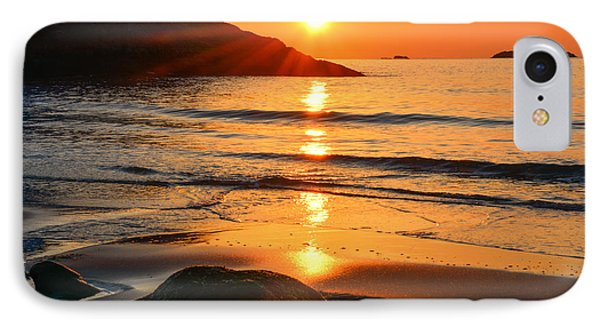 Golden Morning Singing Beach IPhone Case
