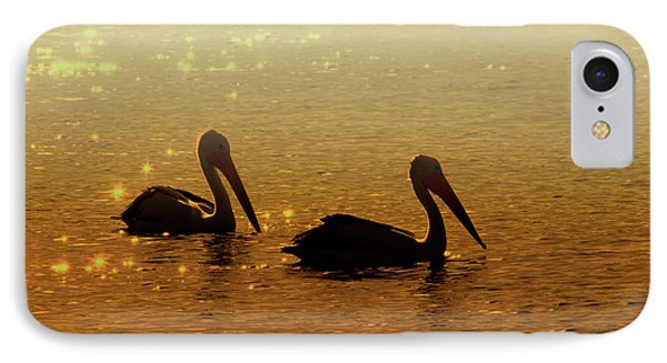 Pelican iPhone 7 Case - Golden Morning by Mike  Dawson