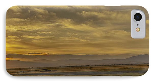 IPhone Case featuring the photograph Golden Morning by Nancy Marie Ricketts