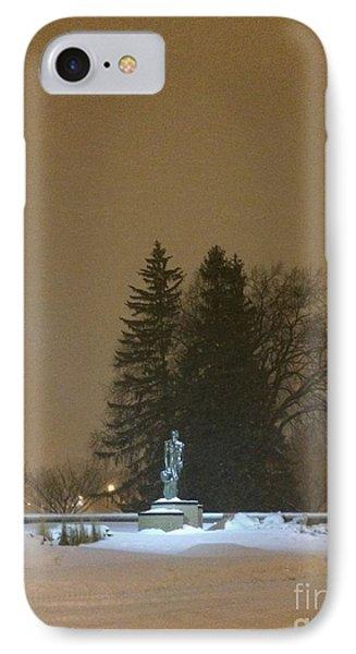 Golden Night IPhone Case by Joseph Yarbrough