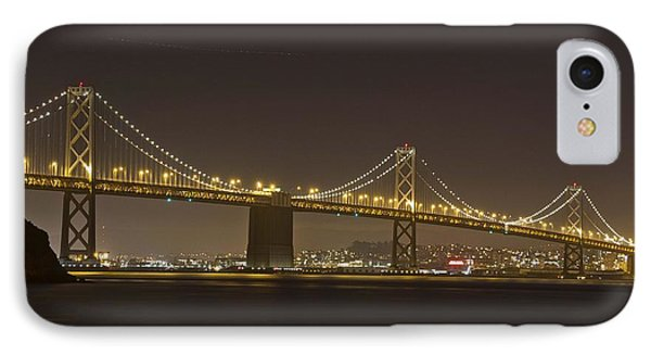 Golden Night On The Bay Phone Case by Miguel  Uribe
