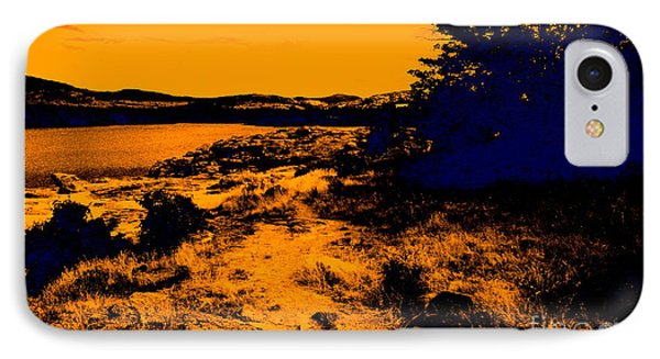 Golden Nights Phone Case by Mickey Harkins