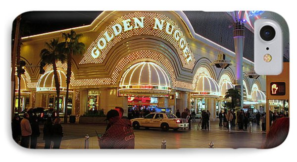 Golden Nugget IPhone Case by Kay Novy
