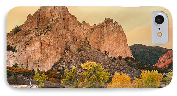 Golden October IPhone Case by Tim Reaves
