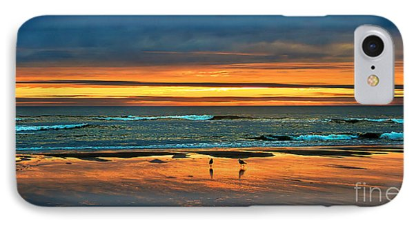 Golden Pacific IPhone Case by Robert Bales