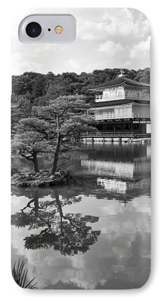 Golden Pagoda In Kyoto Japan Phone Case by David Smith