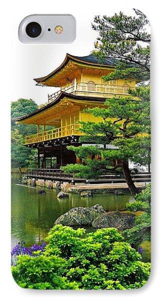 Golden Pavilion - Kyoto IPhone Case